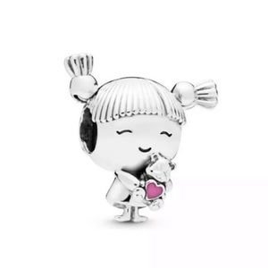 Girl S 925 Ale Sterling Silver Charm fit pandora